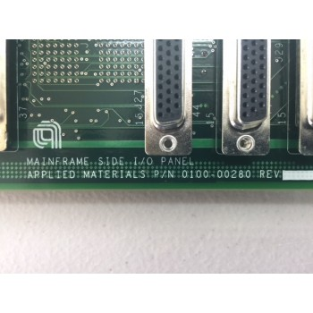 AMAT 0100-00280 MAINFRAME SIDE I/O Panel