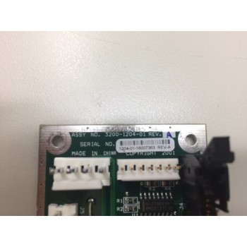 ASYST 3200-1204-01 IsoPort Mini-Motor Interface PCB