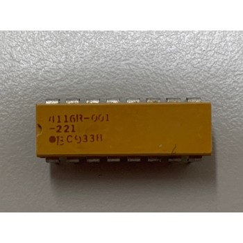 Bourns 4116R-001-221 Resistor Networks & Arrays 220 OHM 16 PIN 2%