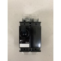 Fuji Electric CP32E/15D Circuit Breaker w/CP-S2 So...