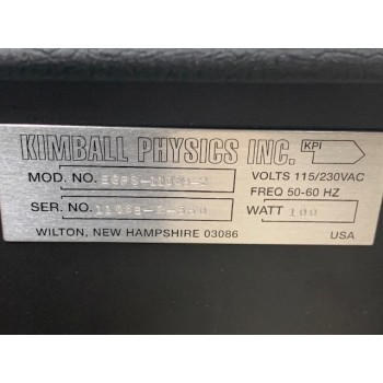 KLA-Tencor 755-616741-000 Kimball Physics EGPS-1106B-2 Electron Gun Power Supply