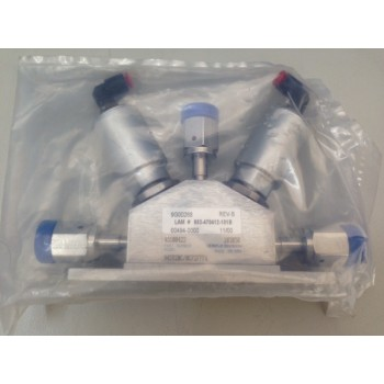 Lam Research 853-470412-101B Parker Veriflo 45100422 3-way VALVE