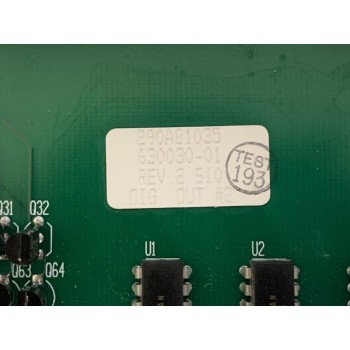SVG Thermco 630030-01 VMIC MODEL 2170A 332-102170 DIGITAL OUTPUT PCB